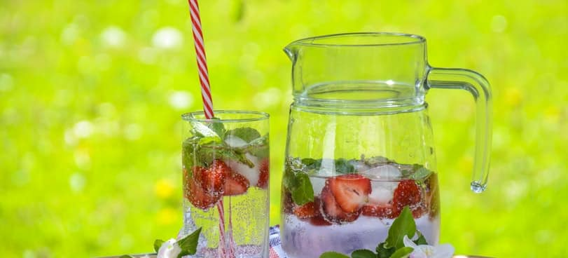 Infused water to promote hydration on phentermine