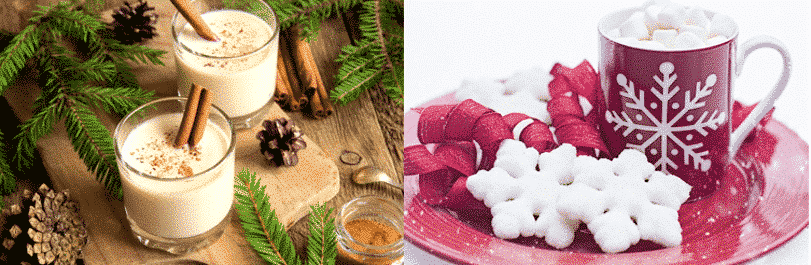 healthy christmas recipe drinks